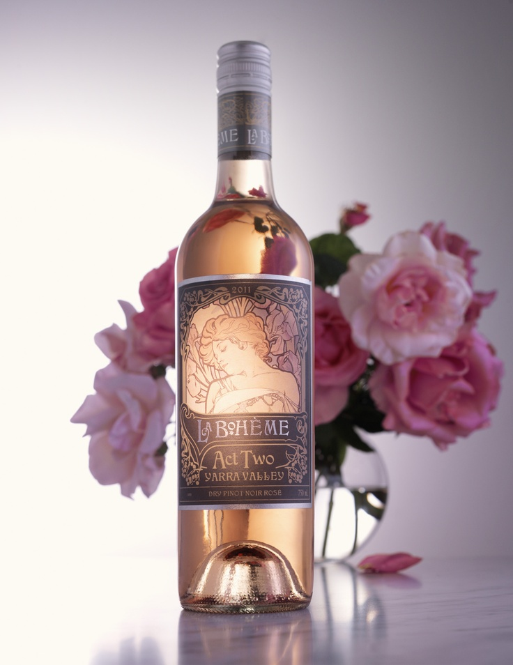 The delicious La Boheme Dry Rose from De Bortoli Wines in the Yarra Valley #wine #roserev, #yarravalley. $18.99RRP from www.debortoli.com.au