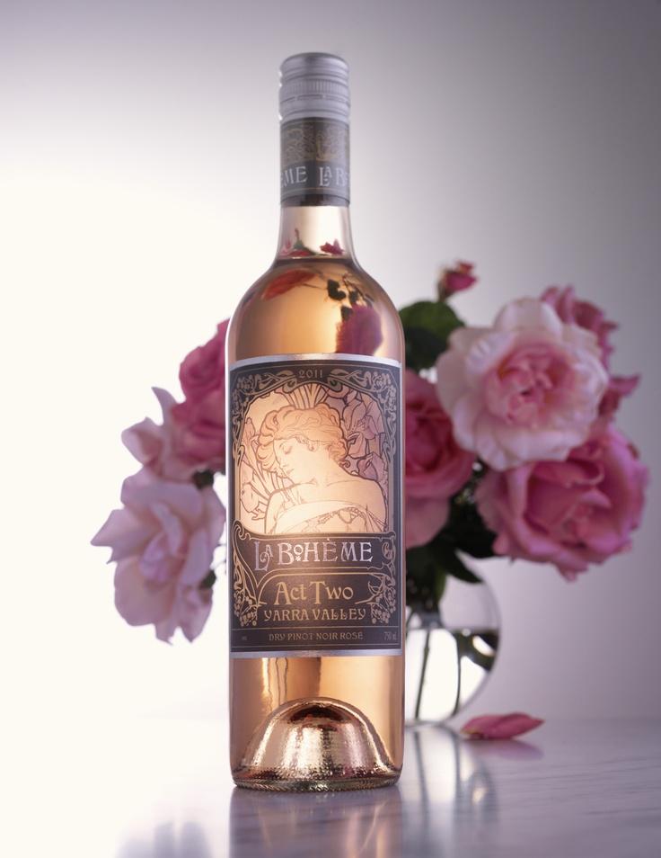 The delicious La Boheme Dry Rose from De Bortoli Wines in the Yarra Valley #wine #roserev, #yarravalley. $18.99RRP from www.debortoli.com.au