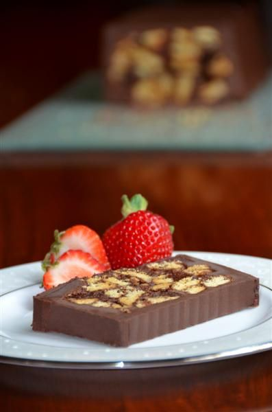 No Bake Royal Chocolate Biscuit Cake