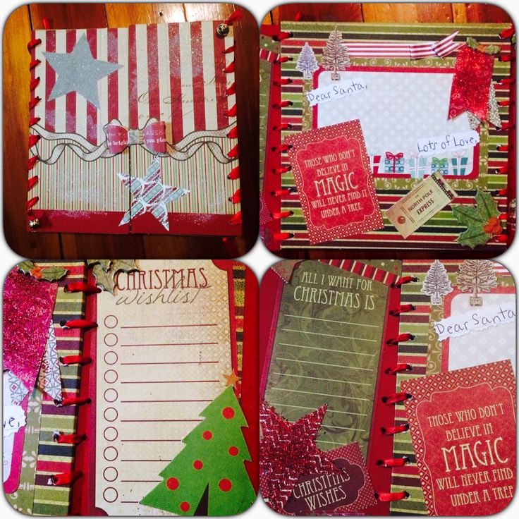 Christmas memory fill in books great to keep track of your child's memories  Includes to Santa letter  Wish list  Calendar and naughty or nice card  Purchase from a little ray of sunshine find us on Facebook
