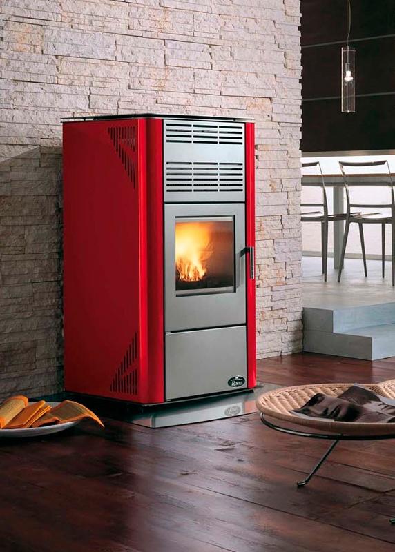 10 best estufas pellet images on pinterest fire places stoves and alicante - Chimeneas de peles ...