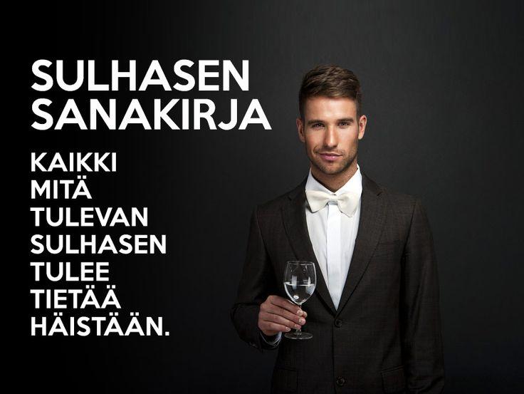 Miehen opas hääsanaston merkitykseen: http://blackouthair.fi/blog/sulhasen-sanakirja/  #häät #hääpäivä #sulhanen #avioliitto