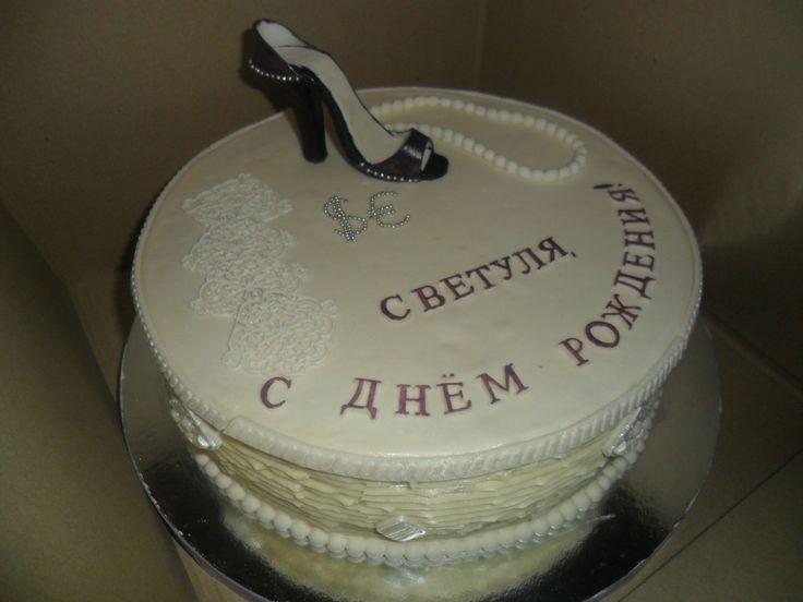 Женский #торт_на_заказ_харьков #день_рождения #бисквитный_торт