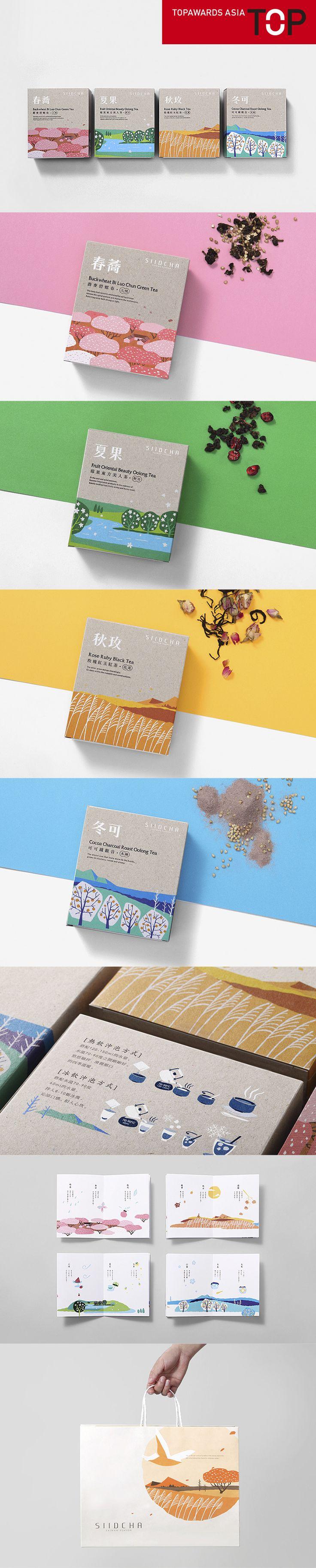 Topawards Asia - SIID CHA tea Taiwan