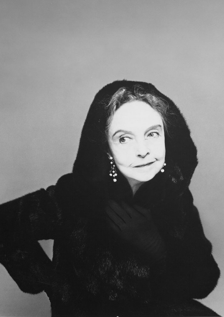 Lillian Gish, 1979.                                                                                                                                                                                 More