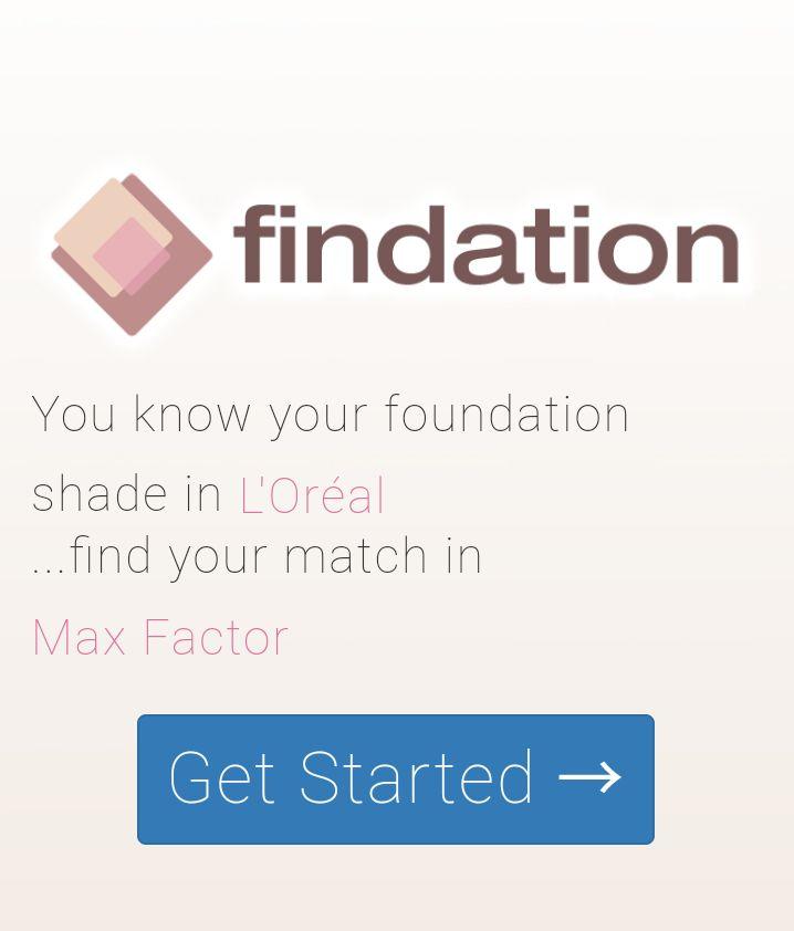 Findation - sau cum să afli nuanţa perfectă a fondului de ten - Lory's Blog