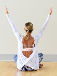 So what this top is for yoga..... I would wear this anytime. Love it