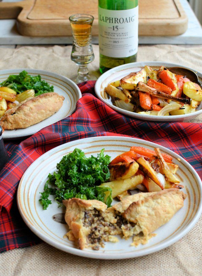 Haggis Pasties Recipe from Great British Chefs - a lovely way to serve haggis to this family on Burns Night