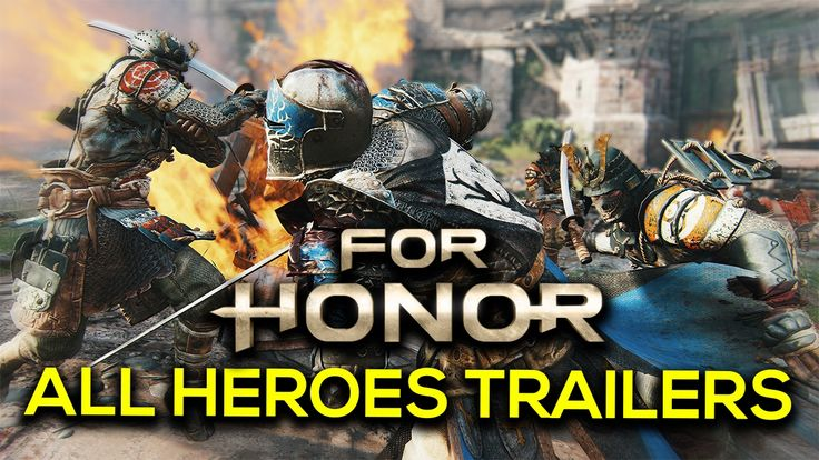 [video] For people willing to participate in for honor Open beta here's a video containing all hero trailers and moves #Playstation4 #PS4 #Sony #videogames #playstation #gamer #games #gaming