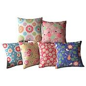 Set of 6 The Gradient Of The Colorful Bloomin... – AUD $ 82.63