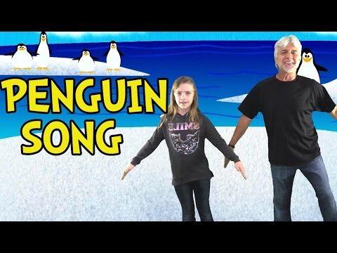 ▶ Penguin Song - Penguin Dance Songs for Kids - Children's Songs by The Learning Station - YouTube