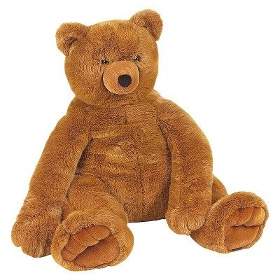 Melissa & Doug Jumbo Teddy Bear-Brown