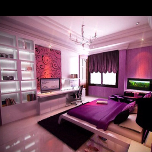 234 best Pinknpurple dreaming images on Pinterest | Bedroom boys ...