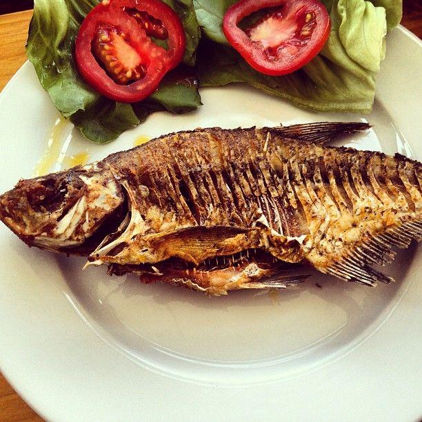 #Roasted Keszeg #fish #lake #Balaton #Hungary #Europe #food #gastronomy