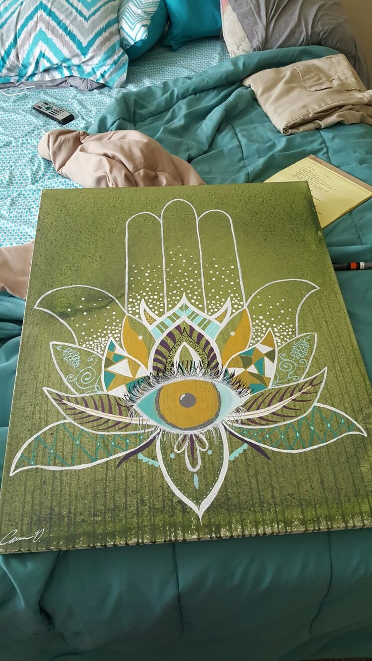 Hamsa painting                                                       …