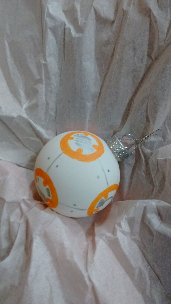 BB-8 Christmas Ornament by StringTheorie on Etsy
