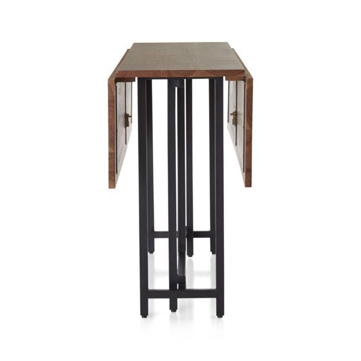 21 best folding tables images on pinterest drop leaf table folding desk and console tables. Black Bedroom Furniture Sets. Home Design Ideas
