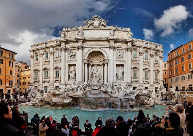Италия - Фонтан Треви, Рим