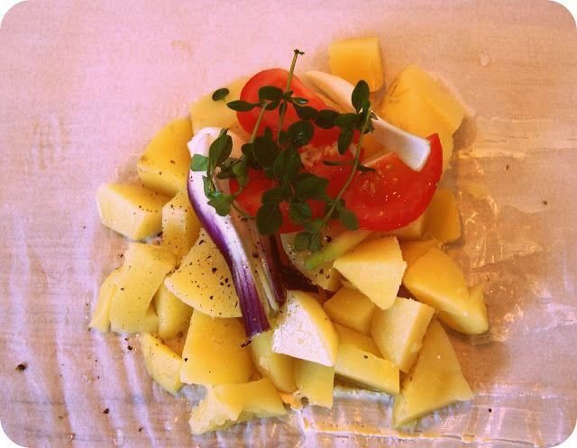 Skarntyden og lupinen: Kartoffelpakker til grillen
