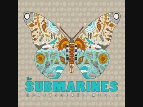 The Submarines song from the album Honeysuckle weeks.    Lyrics to 1940 :  Somethings wrong when you regret  Things that haven't happened yet  But it's a glorious day when morning comes  Without the feeling of alarm    So rise, and shine  Nows the time to be alive  To stay awake with me a while, and smile    You couldn't sleep for the awful fright   That kep...