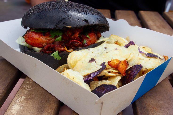Lobster Black burger