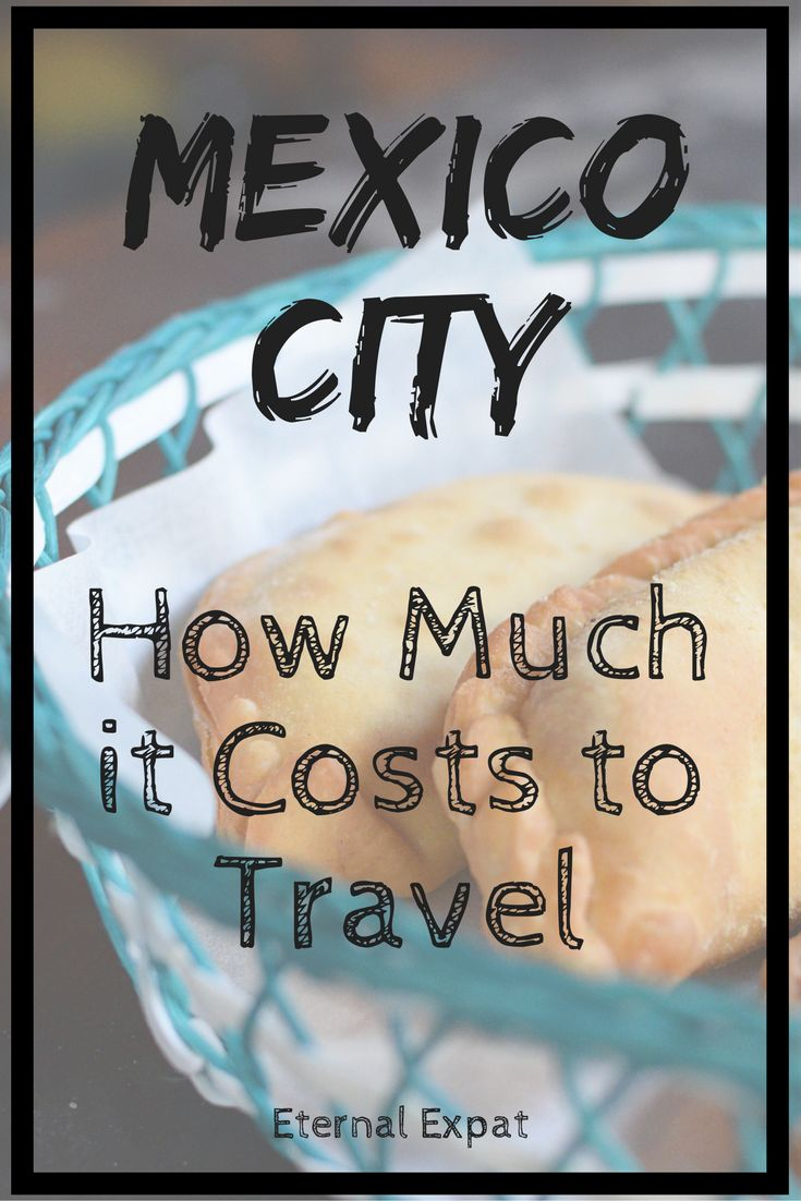 How Much it Costs to Travel Mexico | Mexico City | Budget for Mexico City | Eternal Expat
