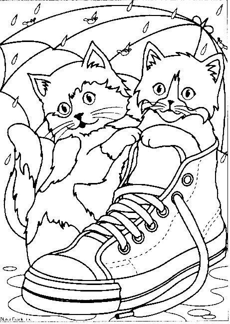 Djur Målarbilder för barn. Teckningar online till skriv ut. Nº 233