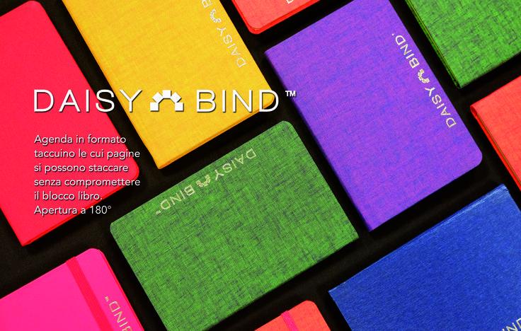 DaisyBind - La nostra agenda taccuino con le pagine strappabili