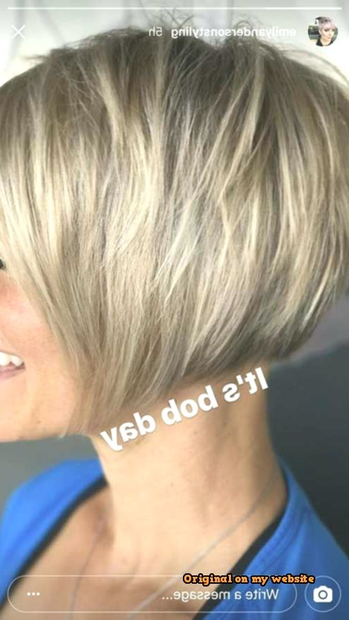 Bob Frisuren Kurz 2019-Süße kurze Bob Cuts für Damen – #Kurzhaarfrisuren #bobhairstyles #womenhairshort