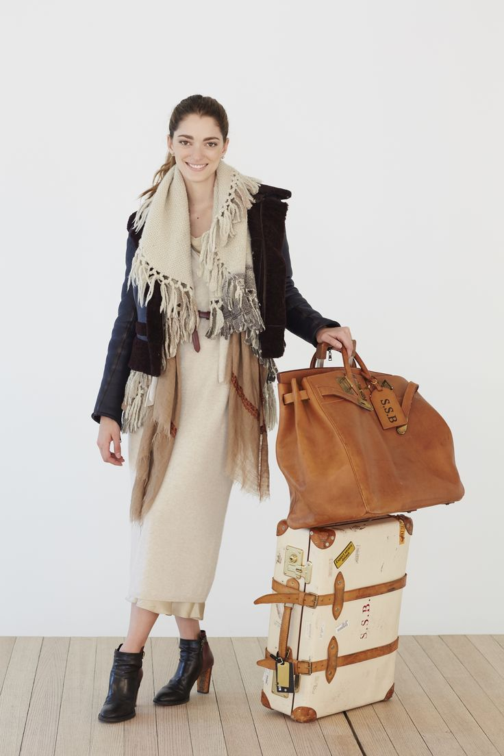 Plane Clothes: Sofia Sanchez de Betak on Layering For a Flight