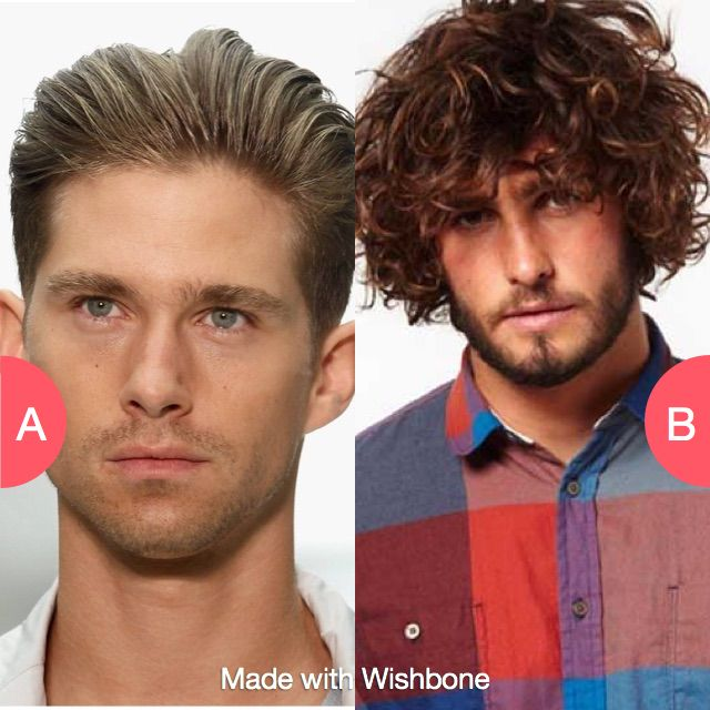 Guys with gelled hair or messy hair? Click here to vote @ http://getwishboneapp.com/share/1330722