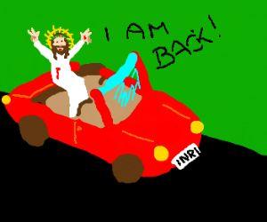hallelujah it's jesus has arrived