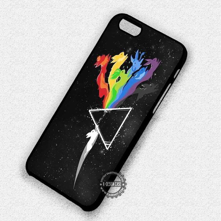 Evo Pokemon Pink Floyd Pikachu - iPhone 7 6 5 SE Cases & Covers #Cartoon  #pokemon