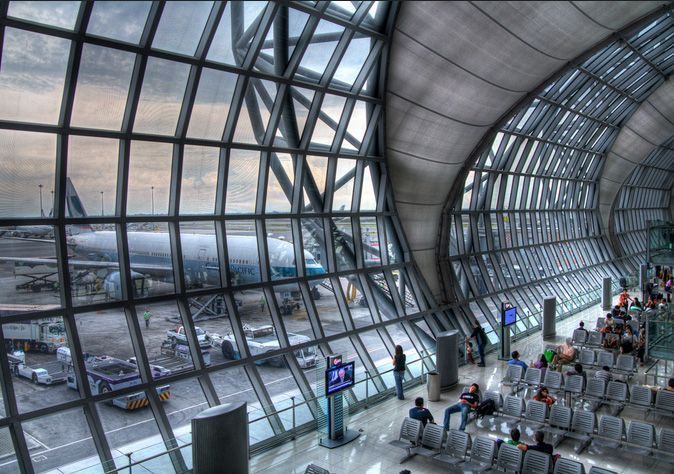 Suvarnabhumi Airport will make you love to visit Thailand even more :)  #SuvarnabhumiAirport #Thailand #ThaiAirports