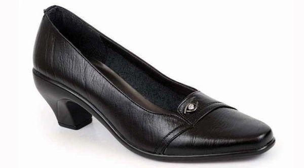 Sepatu kerja wanita formal sepatu pantofel wanita branded 137.S16