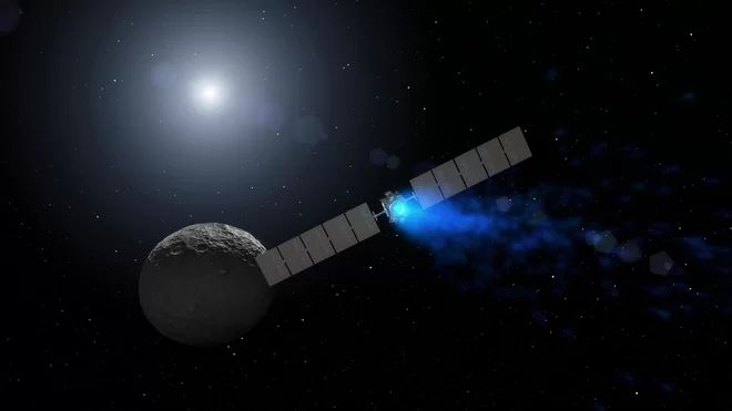 NASA's Dawn Probe at Dwarf Planet Ceres Loses Another Reaction Wheel