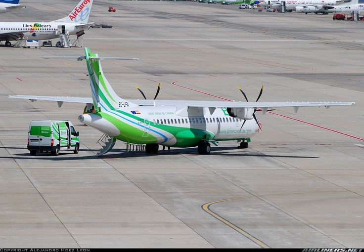 ATR ATR-72-500 (ATR-72-212A) - Binter Canarias (Naysa - Navegacion y Servicios Aereos Canarios)   Aviation Photo #1668414   Airliners.net