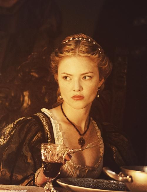Holliday Granger as Lucrezia Borgia in The Borgias.