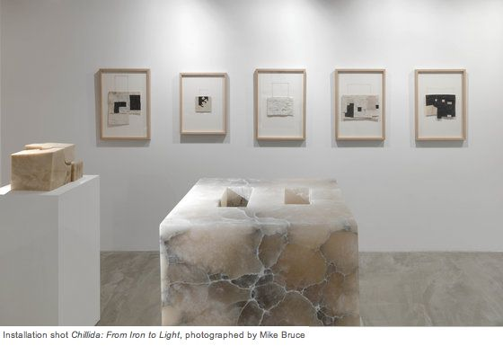 Chillida: From Iron to Light  @ Ordovas Gallery, London.