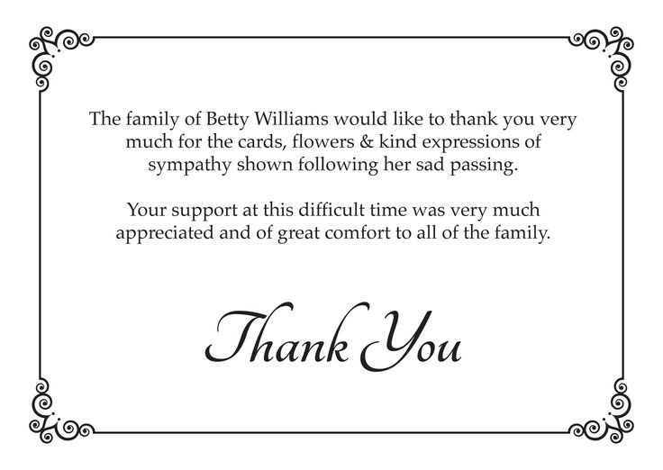 1000+ ideas about Funeral Thank You Cards on Pinterest ...