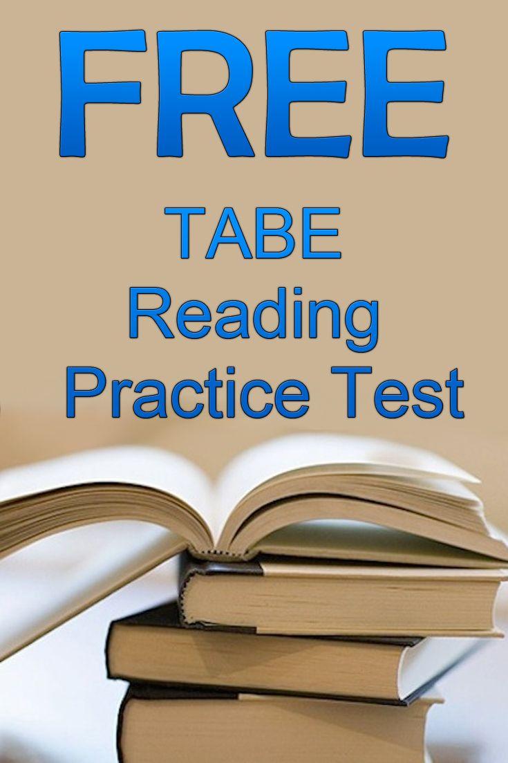 Free TABE Reading Practice Test http://www.mometrix.com ...