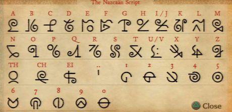 Nazcaan script (Ni No Kuni)