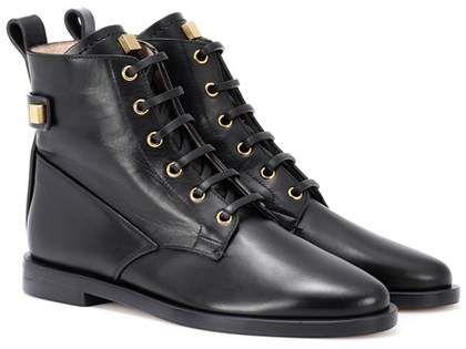 Stuart Weitzman Ryder leather ankle boots  6d14fd64d52f
