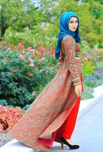 Model Gamis Dian Pelangi 2019 Gambar Islami