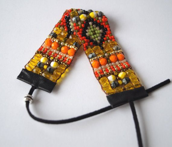 Bead loom bracelet, Christmas present, Christmas bracelet