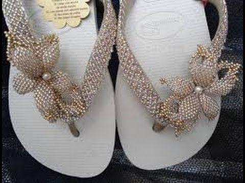 sandalias decoradas con cola de raton paso a paso - Buscar con Google