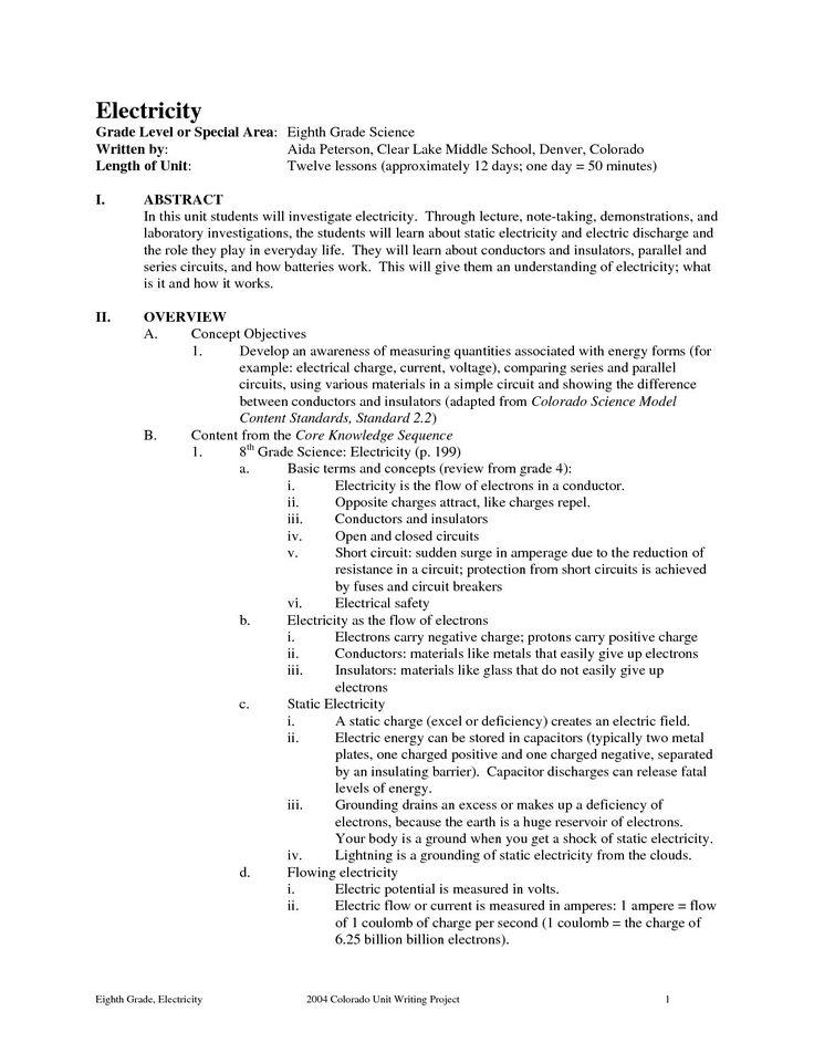 Formal 6th Grade Science Worksheets 6th grade spelling
