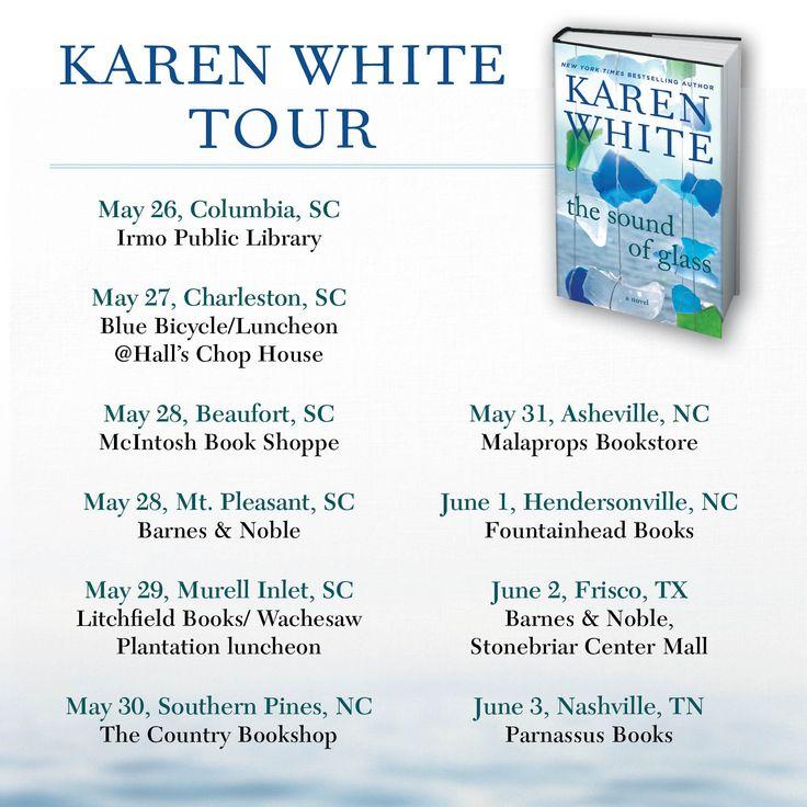 Karen White book tour dates!