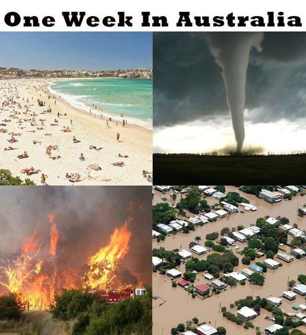 On weather: | 29 Of The Funniest Memes About Australia