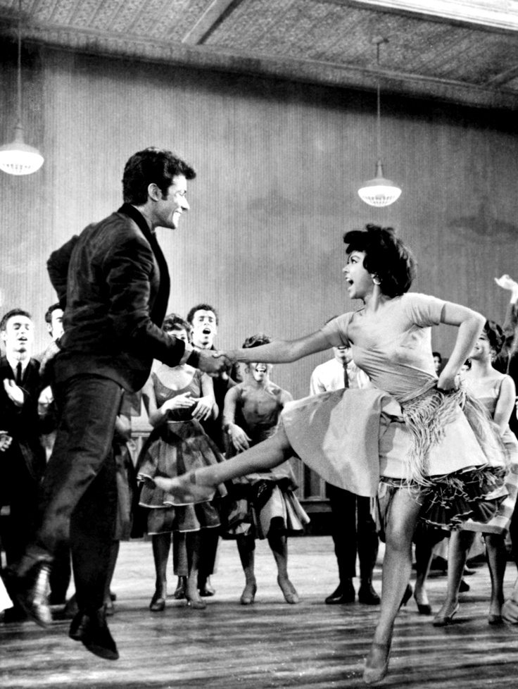 George Chakiris & Rita Moreno--West Side Story (movie)